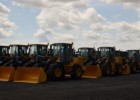 Delivery of 31 new John Deere Loaders.