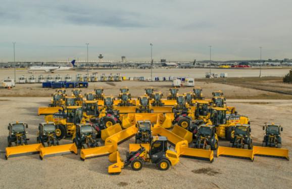 Our Fleet of John Deere Loaders