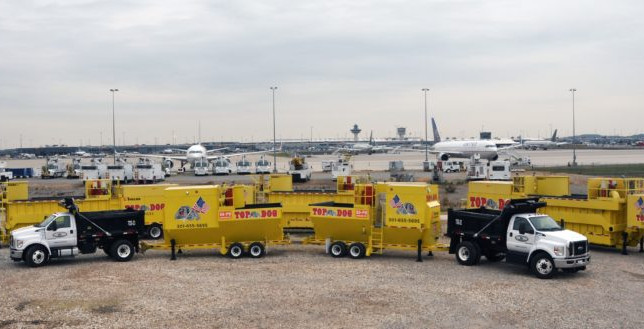 Delivery of Two 80 Ton Trecan Snow Melters