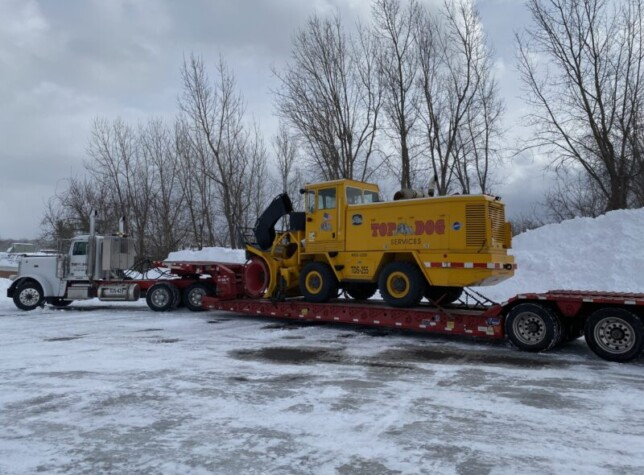 Top Dog Services Assisting Watertown, NY With Major Snow Event